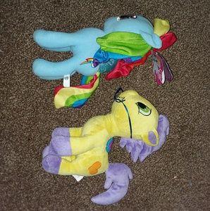 2 my little ponys